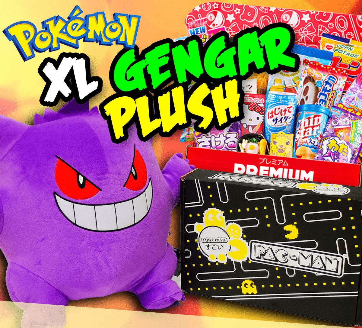 Japan Crate Coupon: Get FREE XL Gengar Plush With 12-Month Premium Subscription!