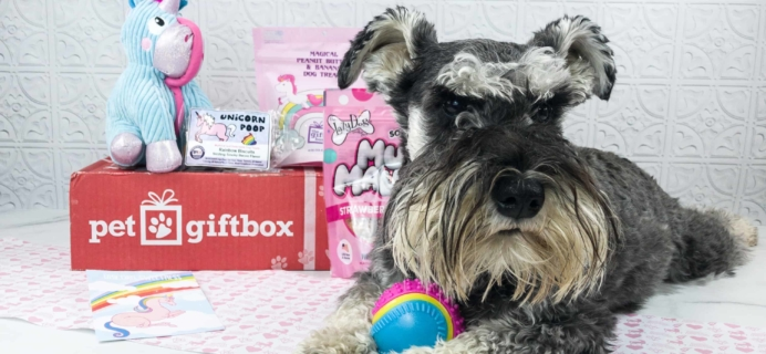 PetGiftBox September 2018 Subscription Box Review + 50% Off Coupon