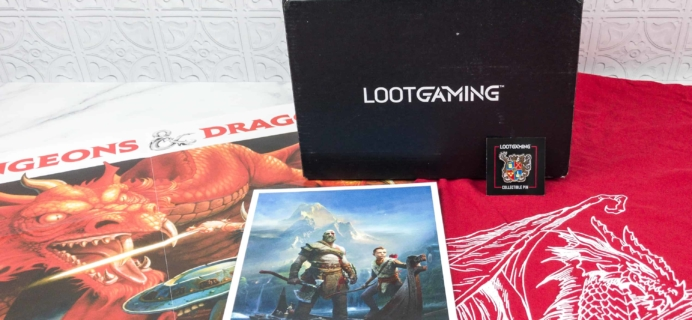 Loot Gaming August 2018 Subscription Box Review & Coupon
