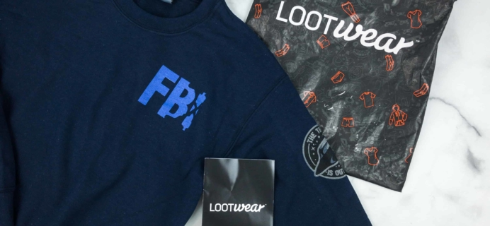 Loot Wearables Subscription by Loot Crate September 2018 Review & Coupon