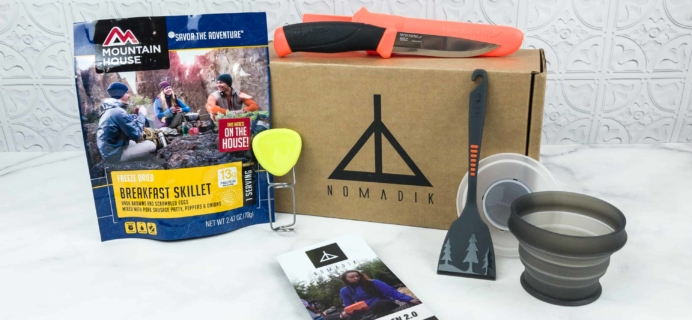 Nomadik September 2018 Subscription Box Review + Coupon