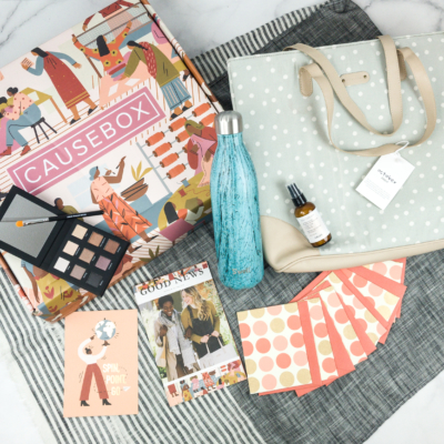 CAUSEBOX Fall 2018 Subscription Box Review + Coupon