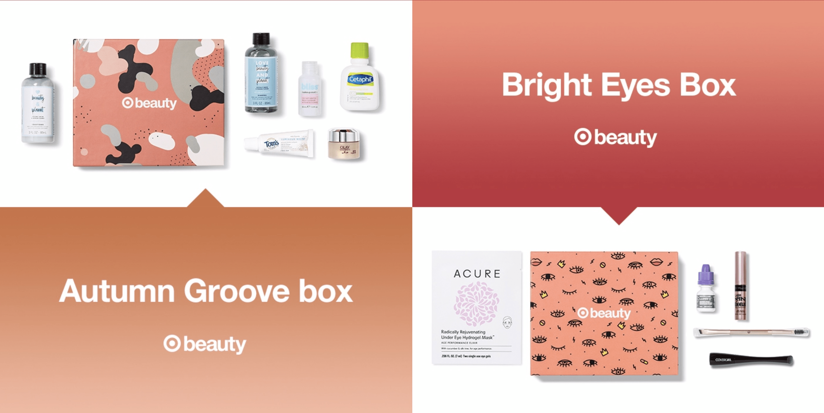 October 2018 Target Beauty Boxes PRICE DROP – $5 Each!