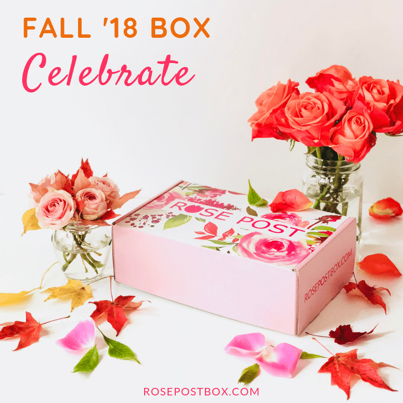 RosePost Fall 2018 Spoiler #4 & #5 + Coupon!