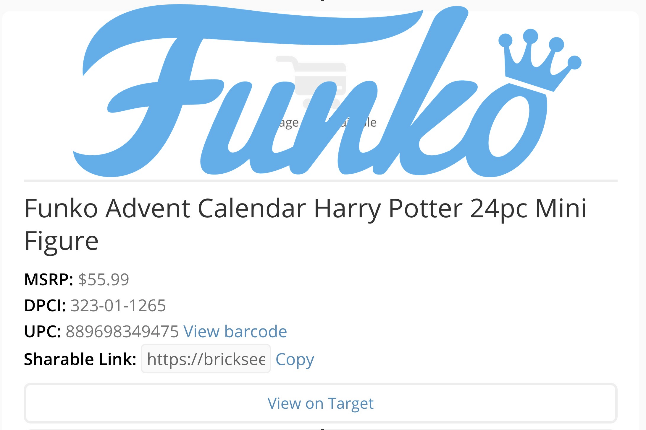 Funko Harry Potter Advent Calendar Coming Soon!