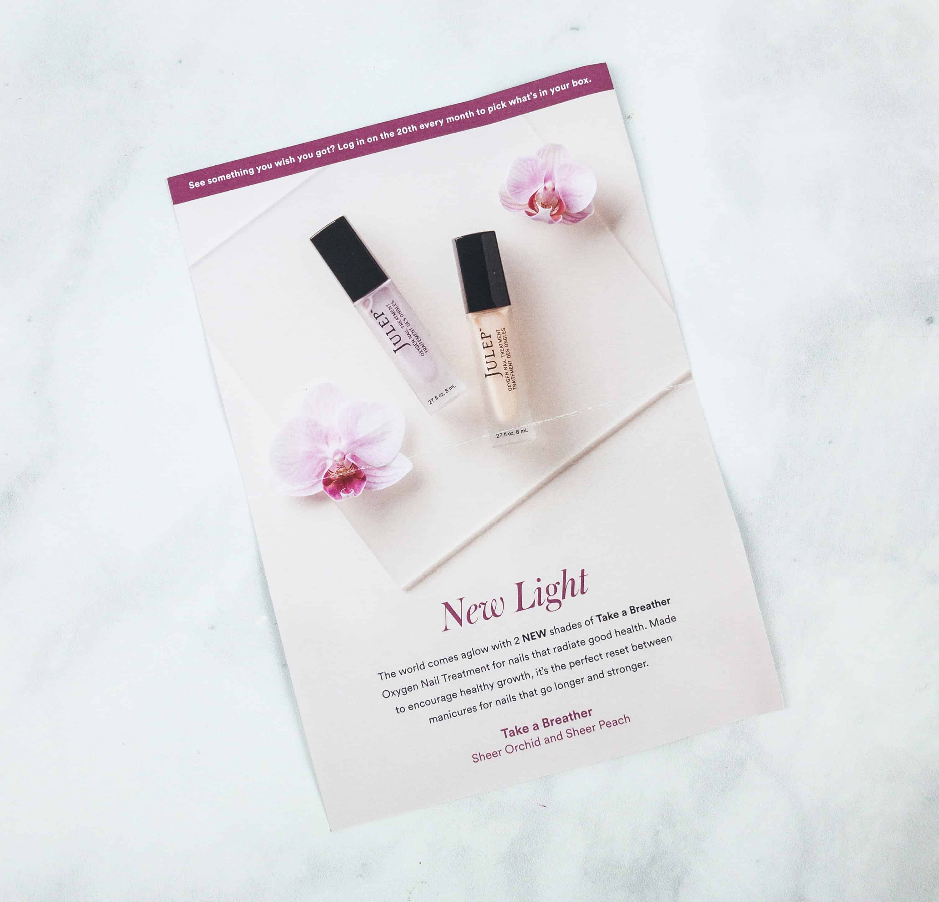 There S An Info Card With Image Of The Cult Favorite 2 New Shades Take A Breather Oxygen Nail Treatment