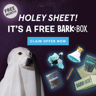 BarkBox Coupon: Get Extra Month Free With 6 Or 12 Month Subscription! LAST DAY!