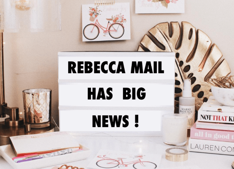 Rebecca Mail Deluxe Lifestyle Quarterly Subscription is Closing + Coupon!