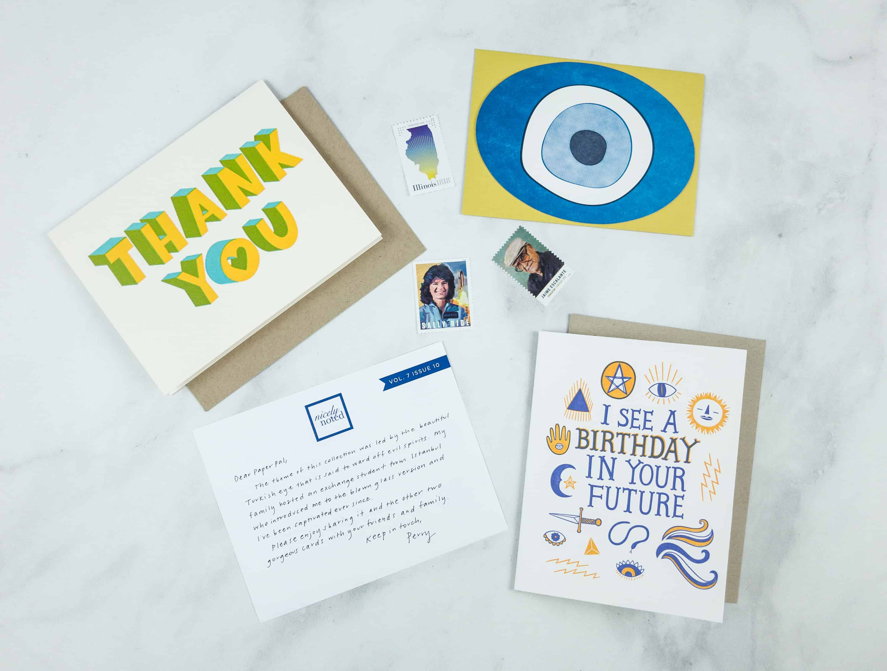 Nicely Noted October 2018 Subscription Box Review + Coupon!