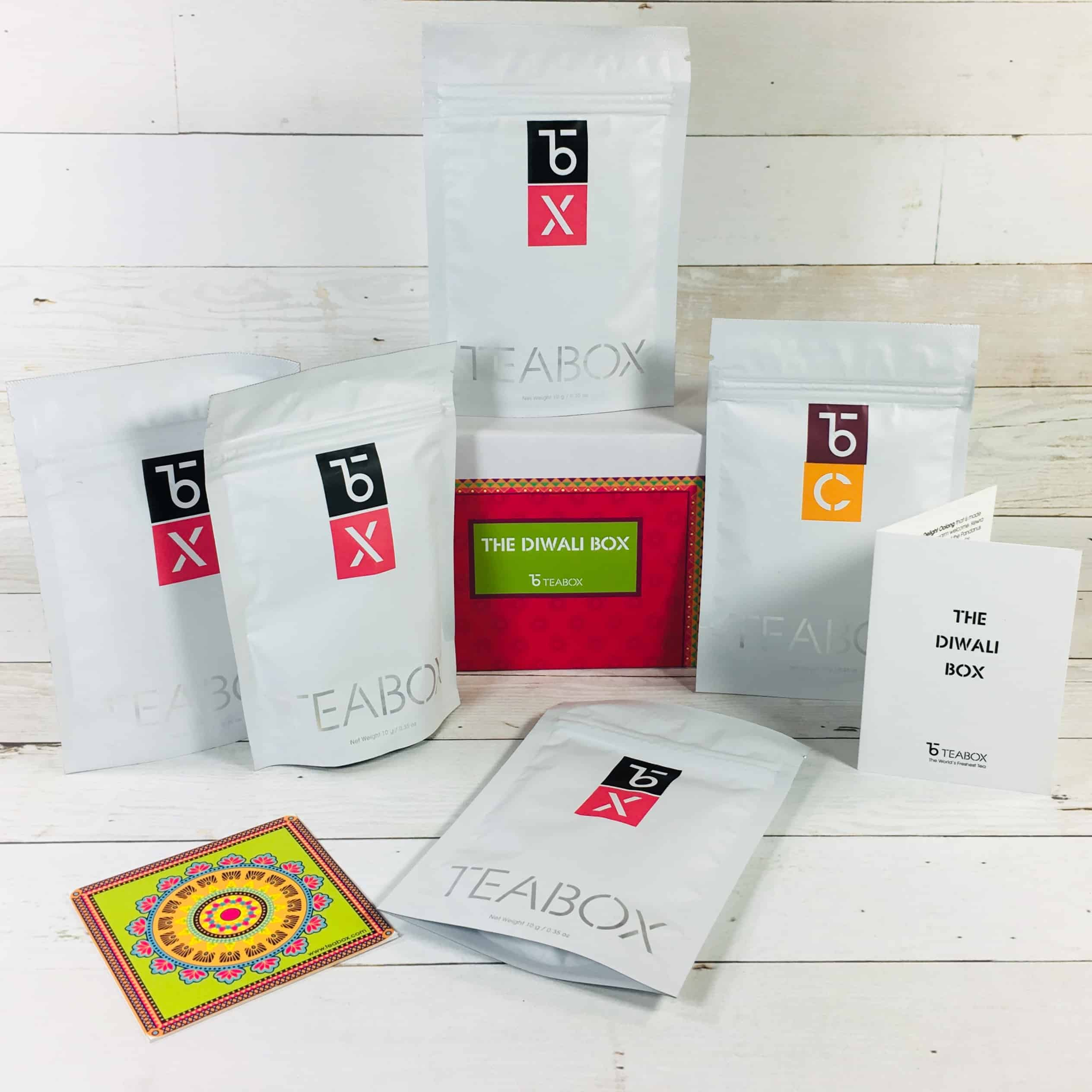 Teabox October 2018 Subscription Review & Coupon