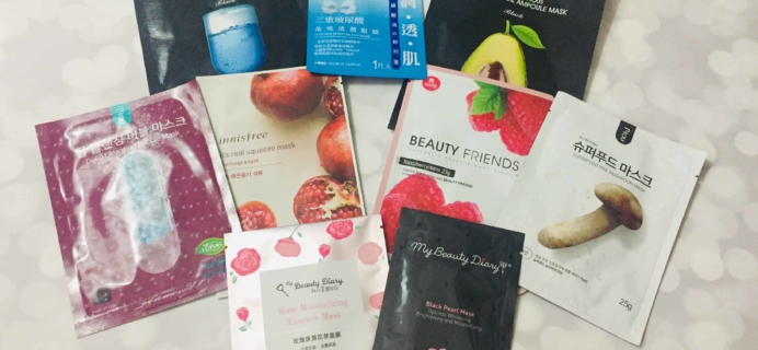 Beauteque Mask Maven September 2018 Subscription Box Review + Coupon