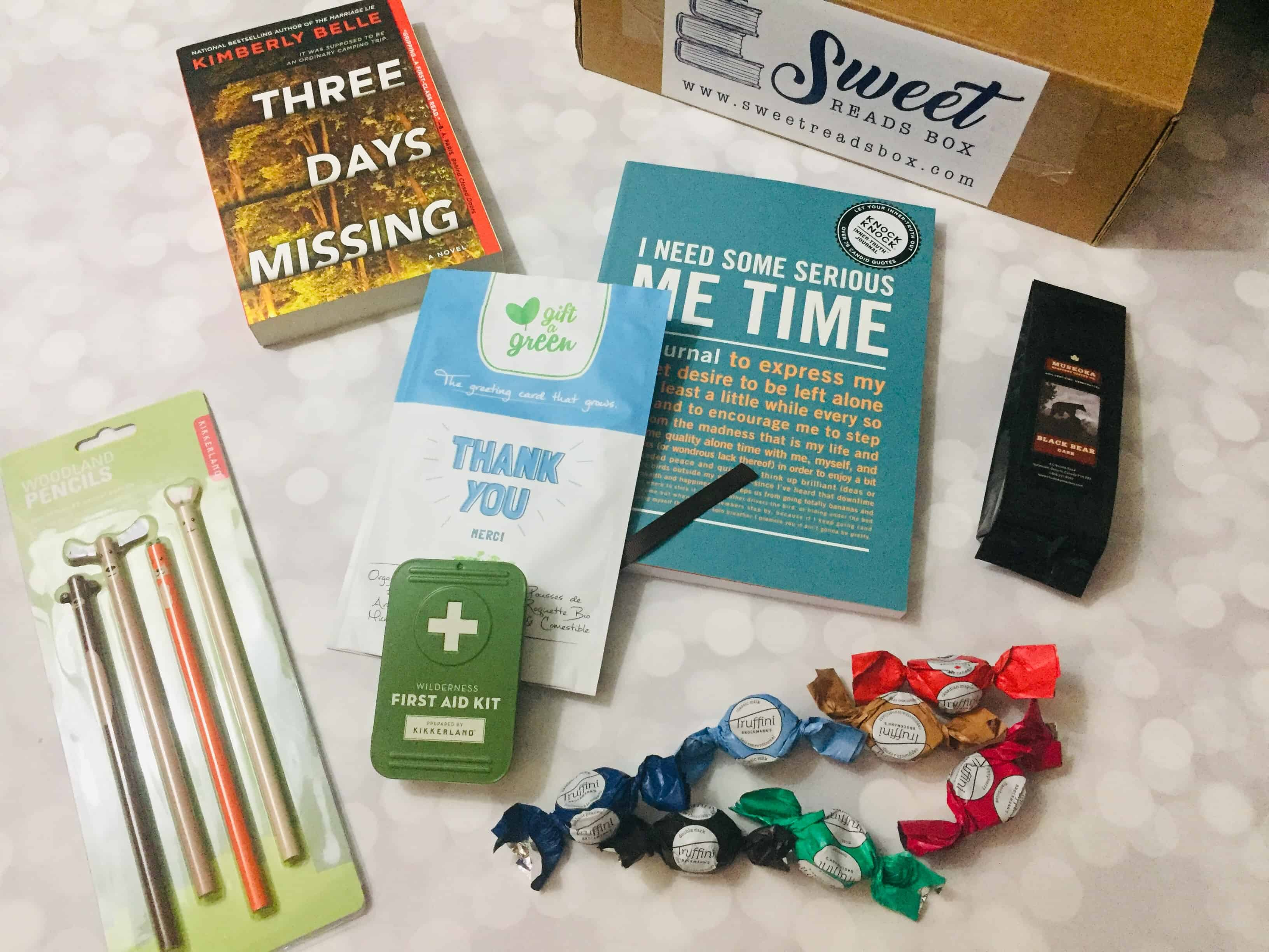 Sweet Reads Box October 2018 Subscription Box Review + Coupon