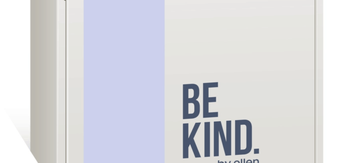 BE KIND by Ellen Box Spring 2019 Spoilers!