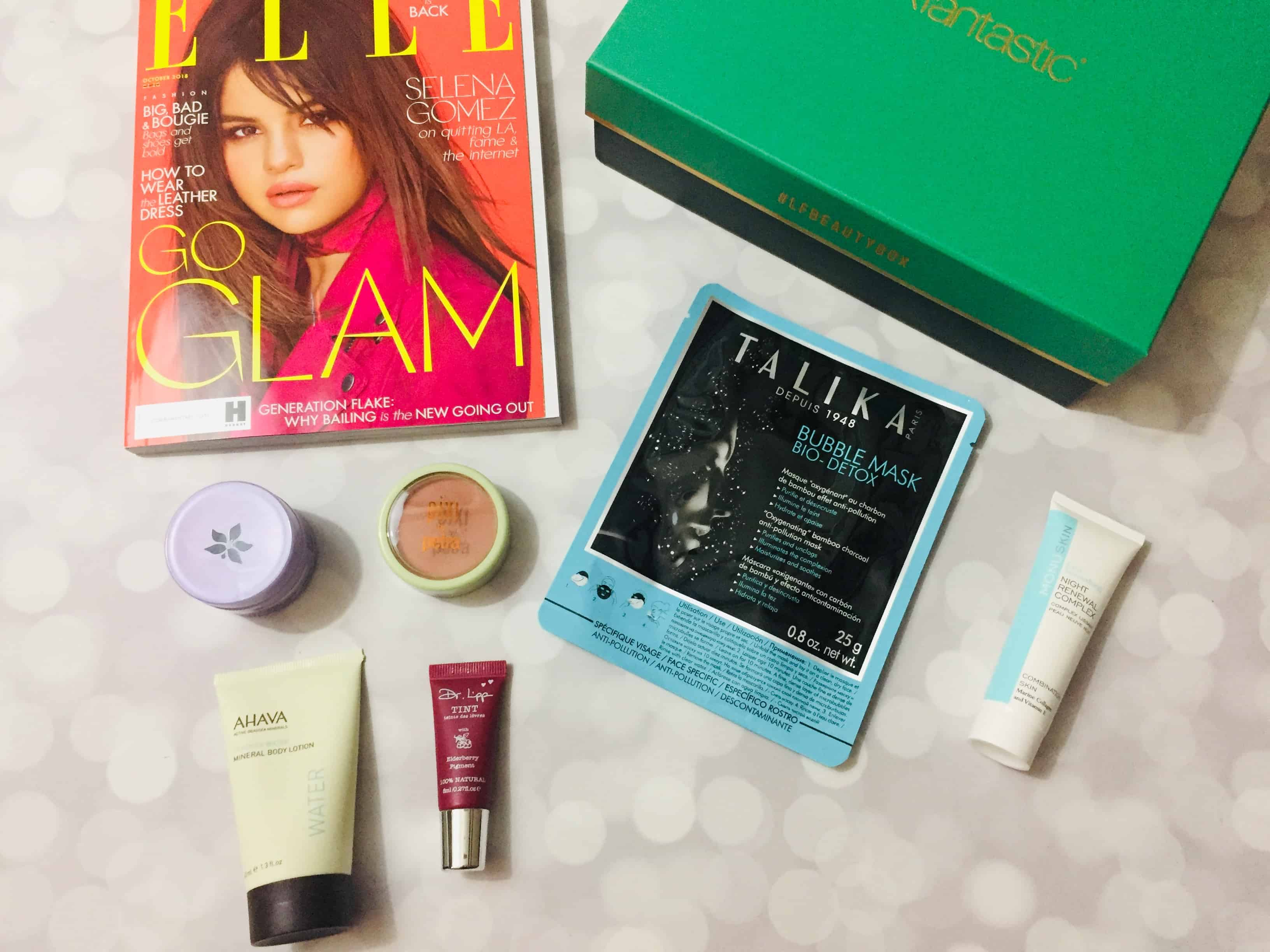 lookfantastic Beauty Box October 2018 Subscription Box Review *