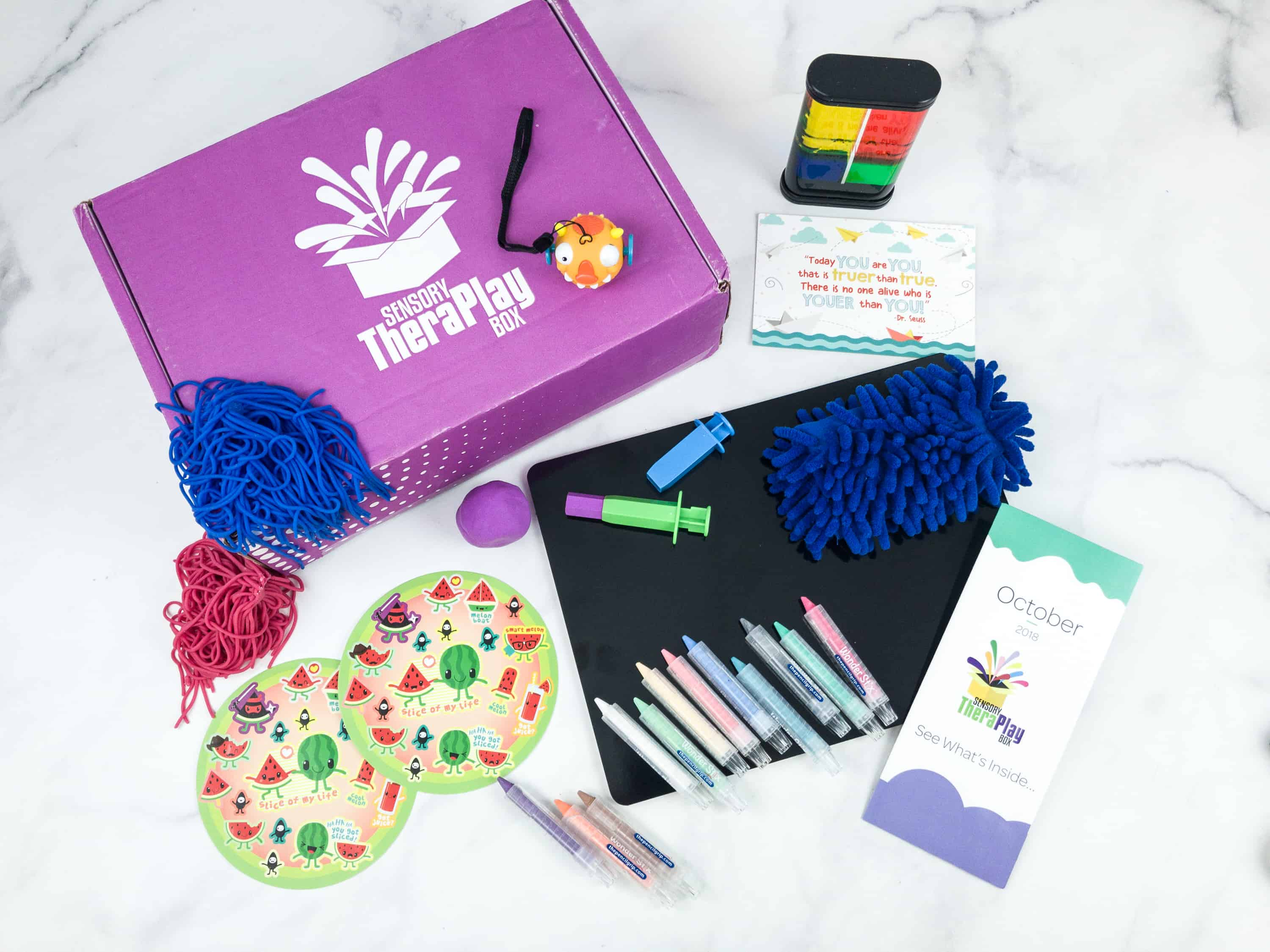 Sensory TheraPLAY Box October 2018 Subscription Box Review + Coupon