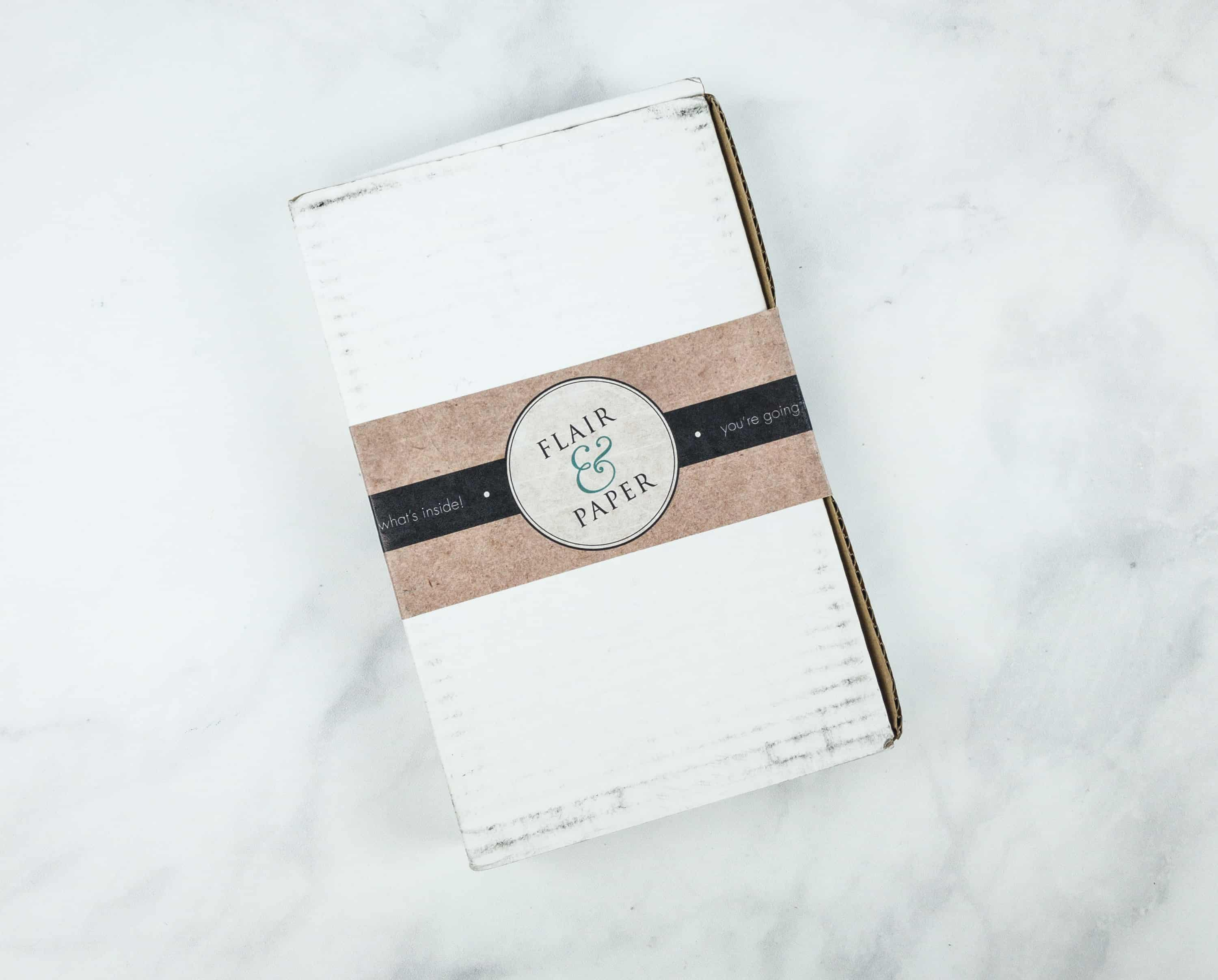 Flair and paper october 2018 subscription box review coupon flair paper is a monthly subscription of stationery and greeting cards each box costs 1999 and contains 4 to 5 greeting cards and 1 to 2 stationery m4hsunfo