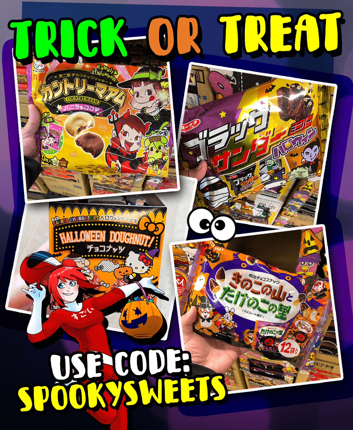 Japan Crate Coupon: Get FREE Big Bag of Halloween Candies & More With Your First Box!