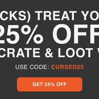 Loot Crate Coupon: Get 25% Off Core Crate + Loot Wear Subscriptions!