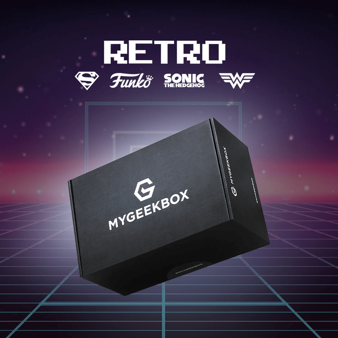 My Geek Box Special Edition Retro Box Available Now + Spoilers!