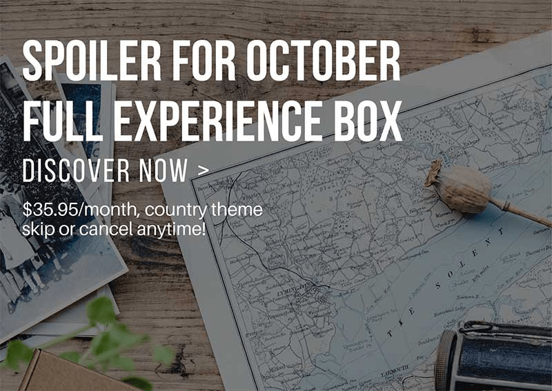 Yummy Bazaar October 2018 Full Experience Box Spoilers