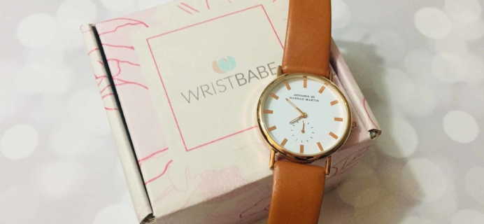 WRISTBABE October 2018 Subscription Box Review + Coupon!