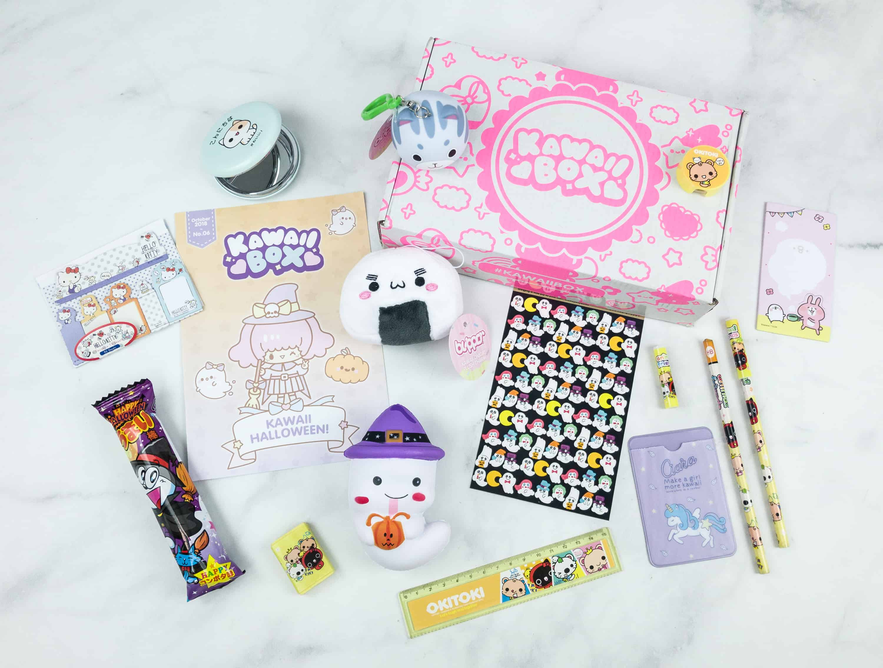 Kawaii Box October 2018 Subscription Box Review
