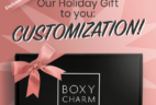 BoxyLuxe December 2018 Customization Starts Now!