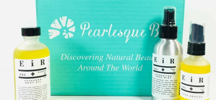 Pearlesque Box October 2018 Subscription Box Review + Coupon