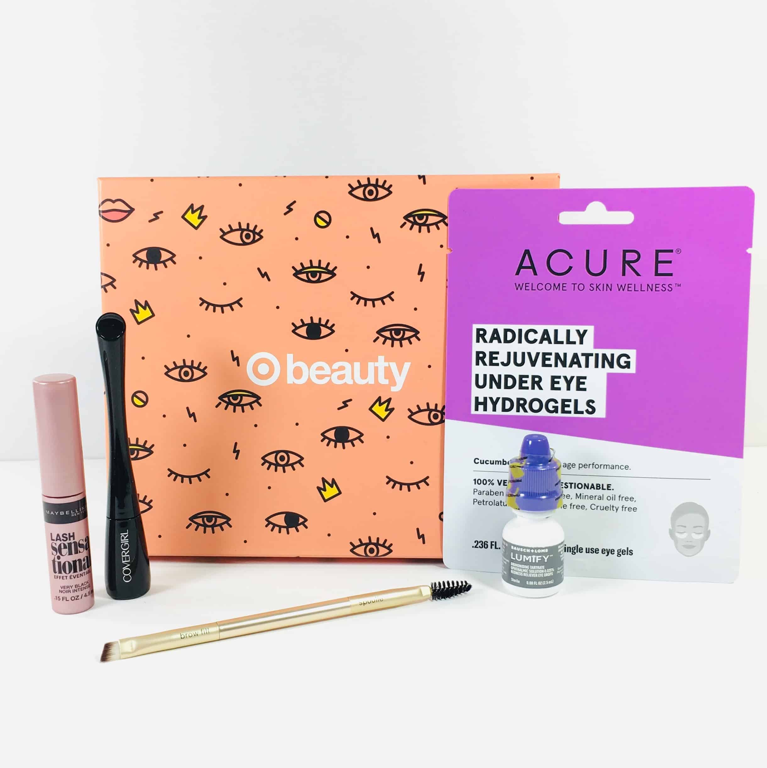 Target Beauty Box Review October 2018 – HELLO BRIGHT EYES!