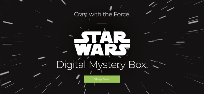 Cricut February 2019 Valentine's Day STAR WARS Digital Mystery Box Available Now!