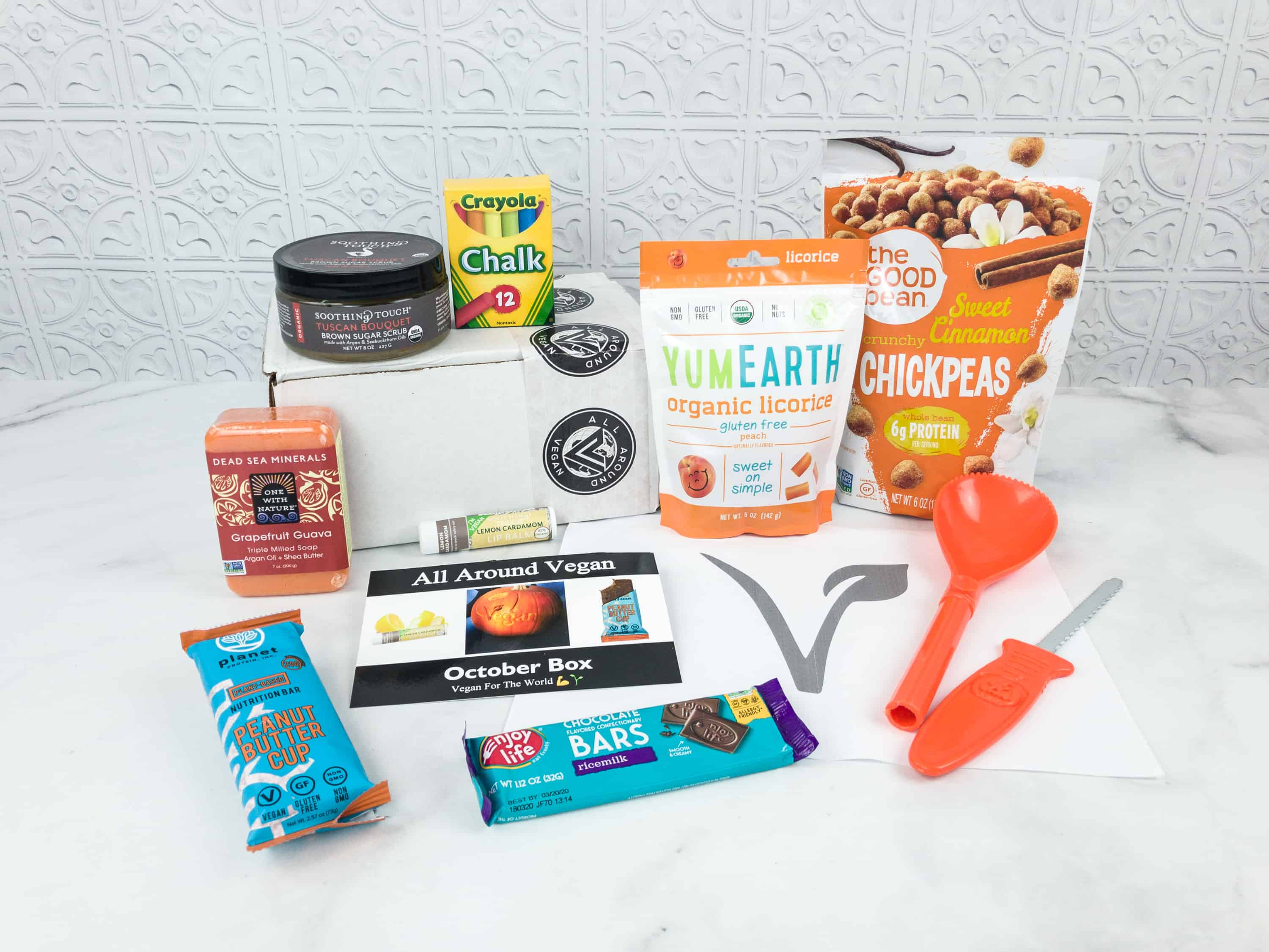 All Around Vegan Box October 2018 Subscription Box Review + Coupon