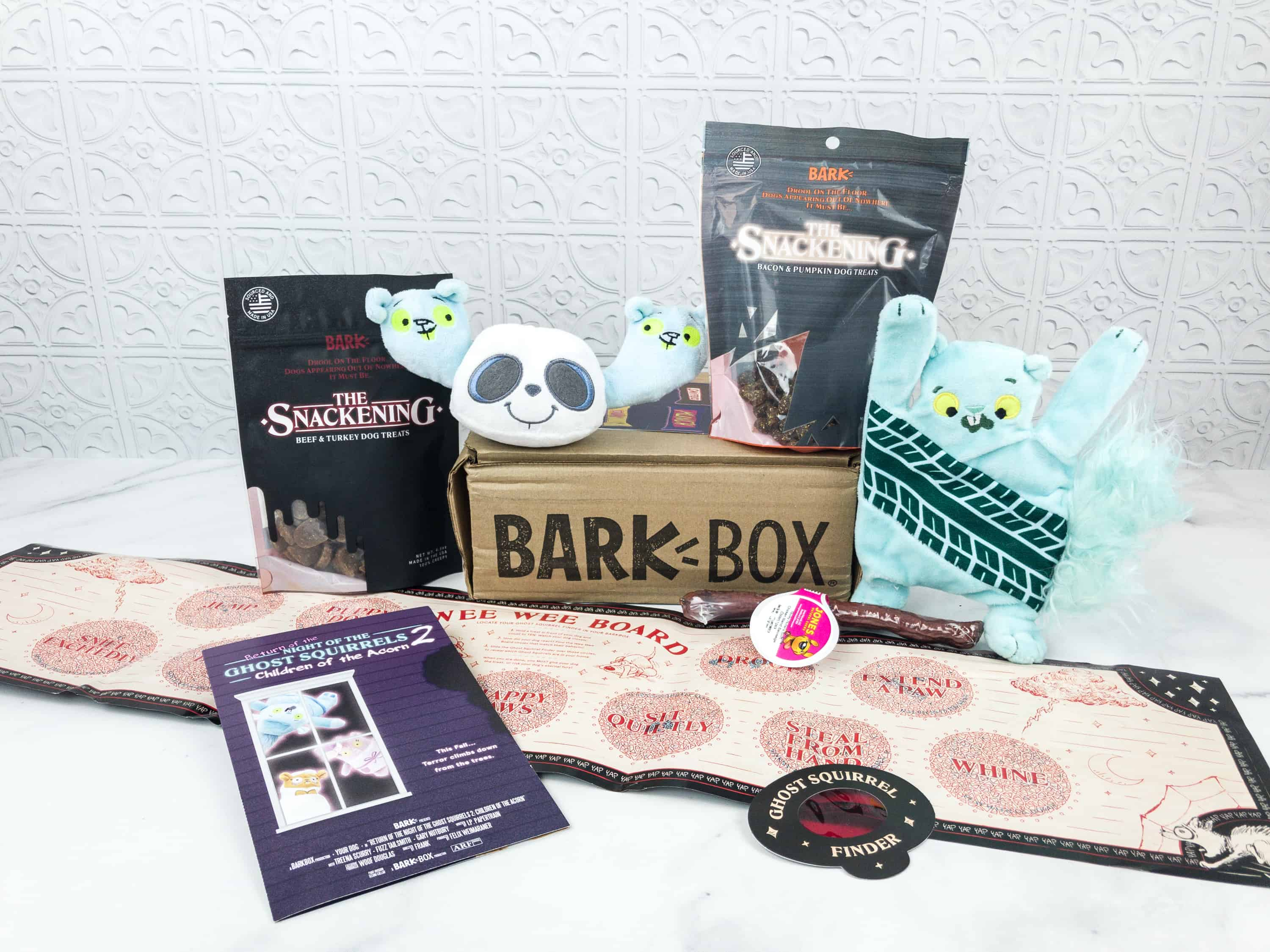 Barkbox October 2018 Subscription Box Review + Coupon