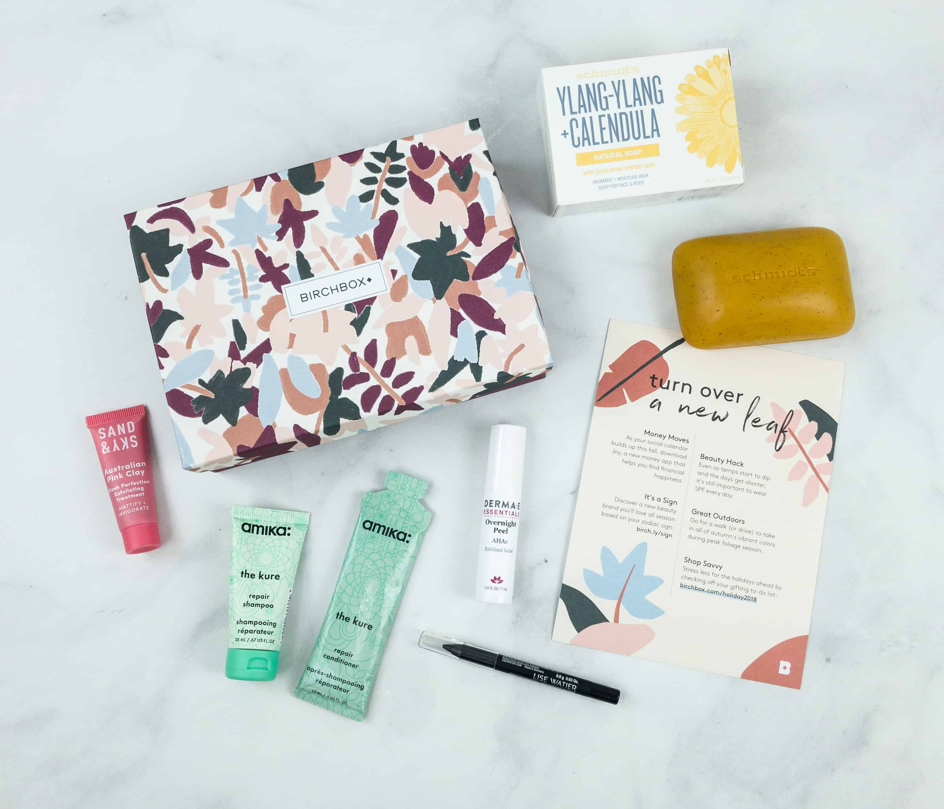 October 2018 Birchbox Subscription Box Review & Coupon – Customized Box