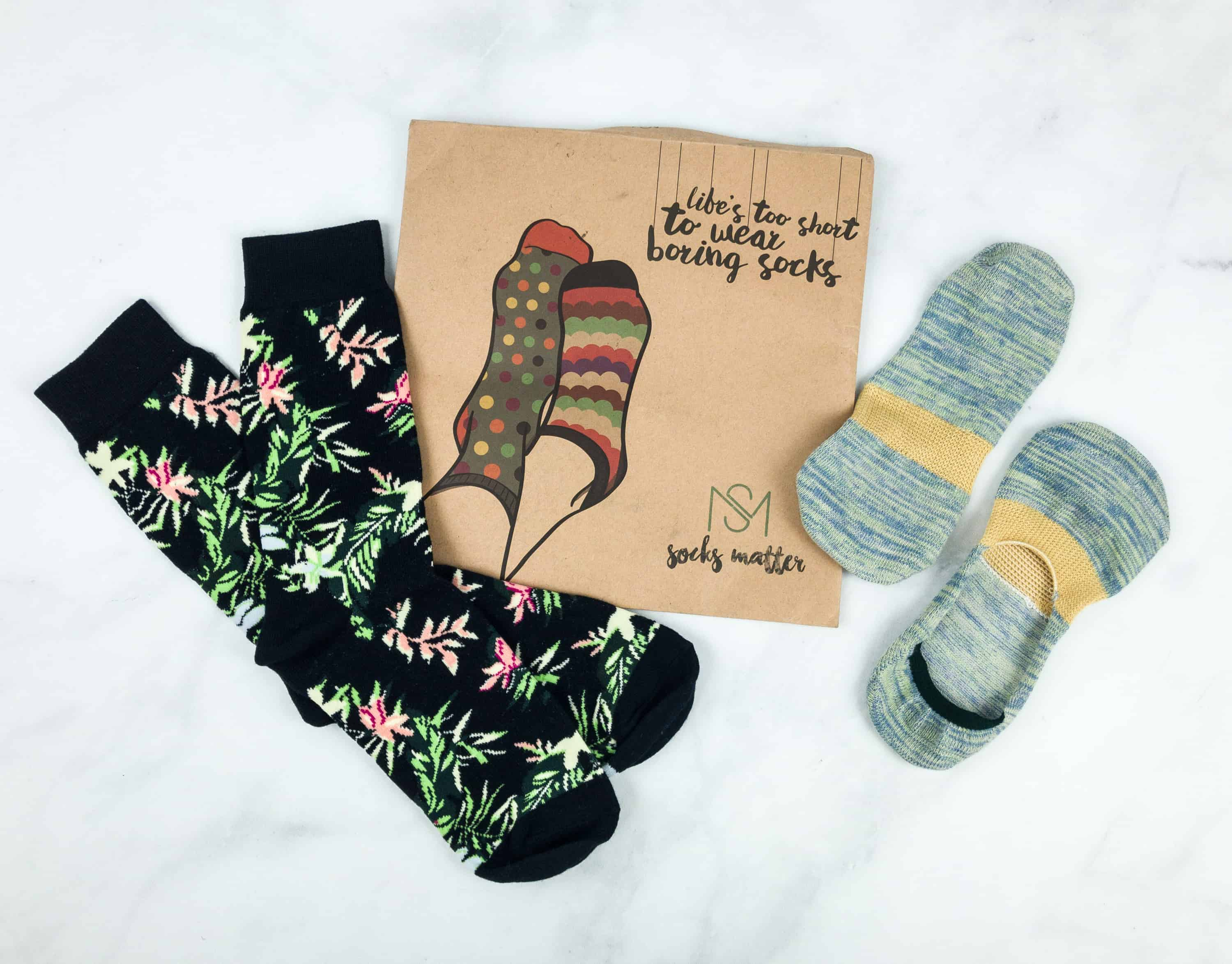 Socks Matter October 2018 Subscription Box Review + Coupon