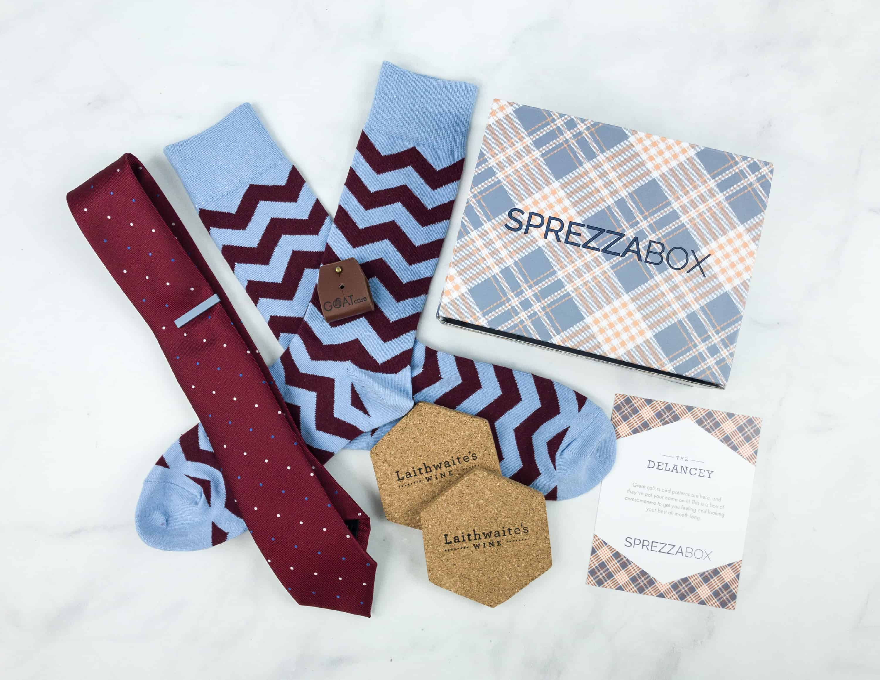 SprezzaBox October 2018 Subscription Box Review + Coupon