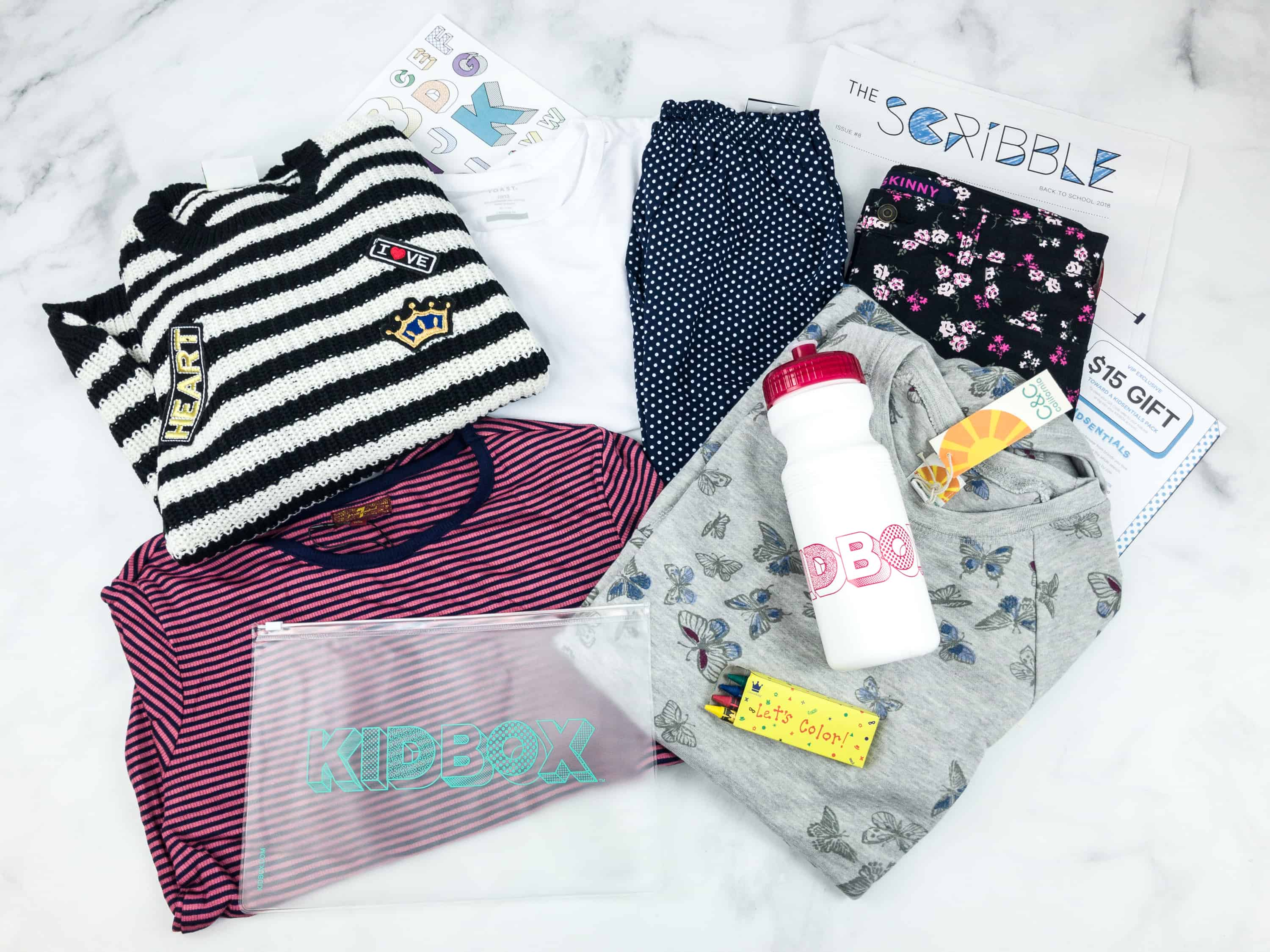 Kidbox Girls Fall 2018 Subscription Box Review & Coupon