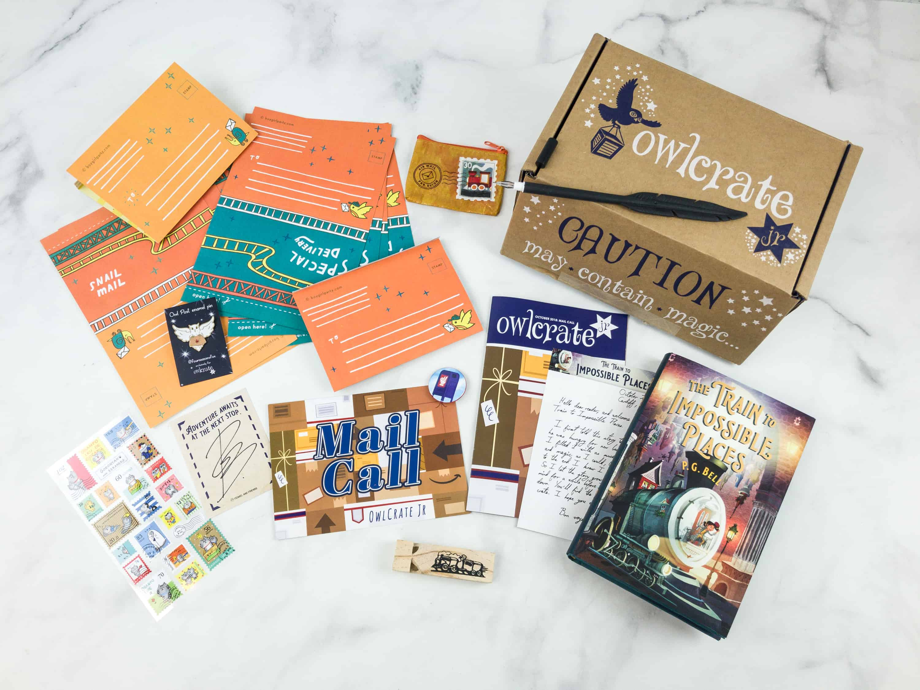 OwlCrate Jr. October 2018 Box Review & Coupon
