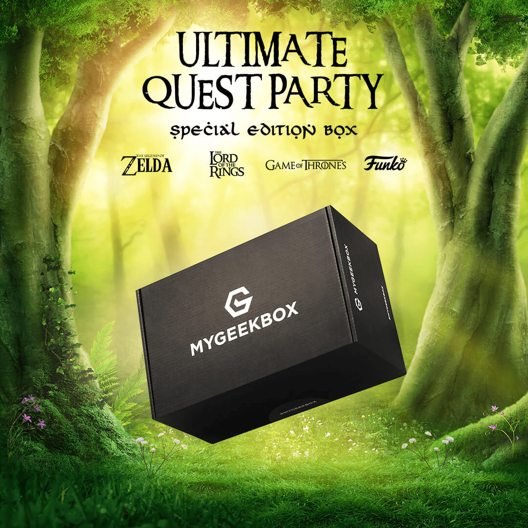 My Geek Box Special Edition Ultimate Quest Party Box Available Now + Spoilers!