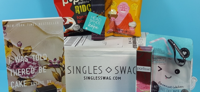 SinglesSwag Subscription Box Review & Coupon – September 2018