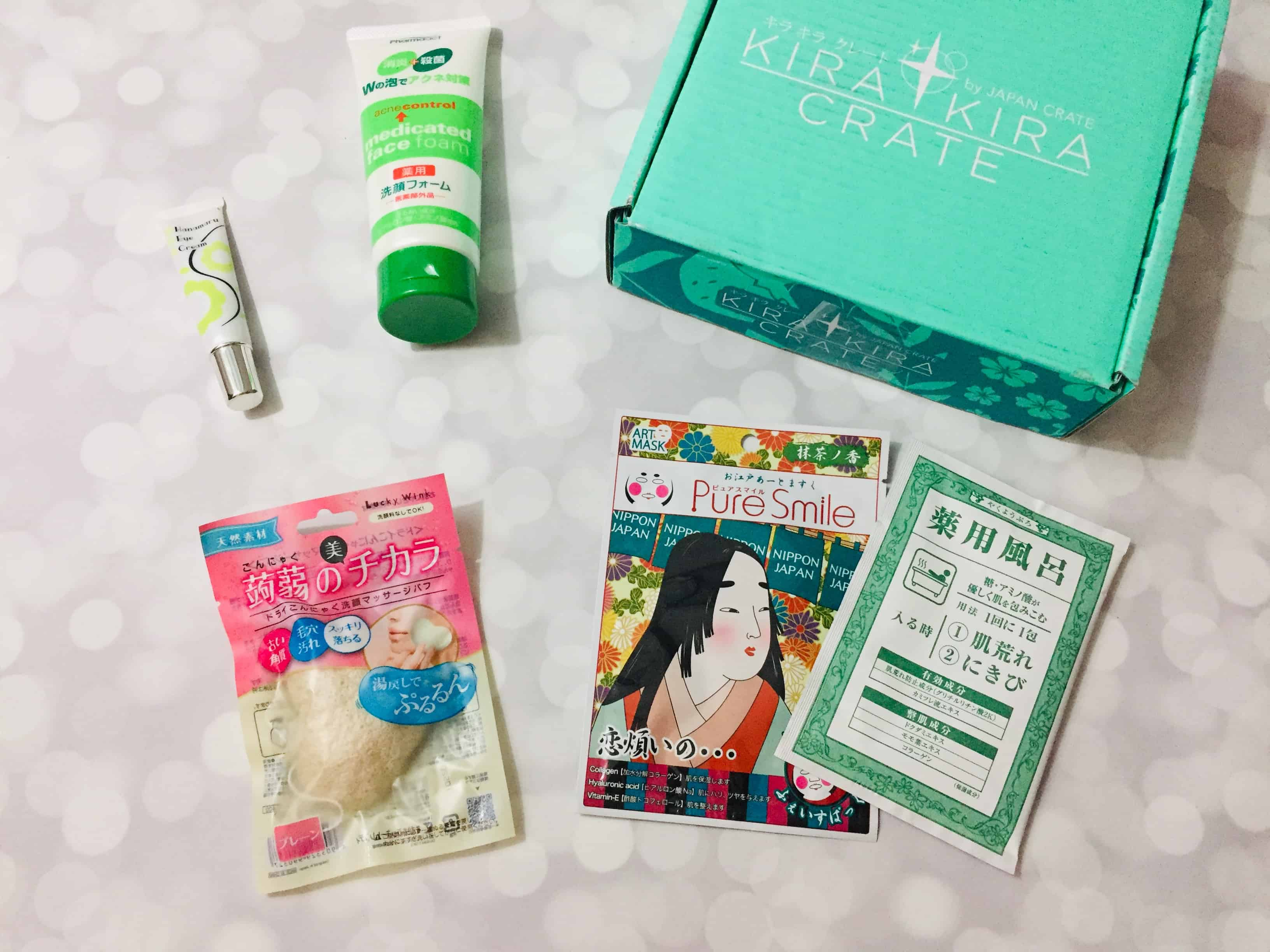 Kira Kira Crate October 2018 Subscription Box Review + Coupon
