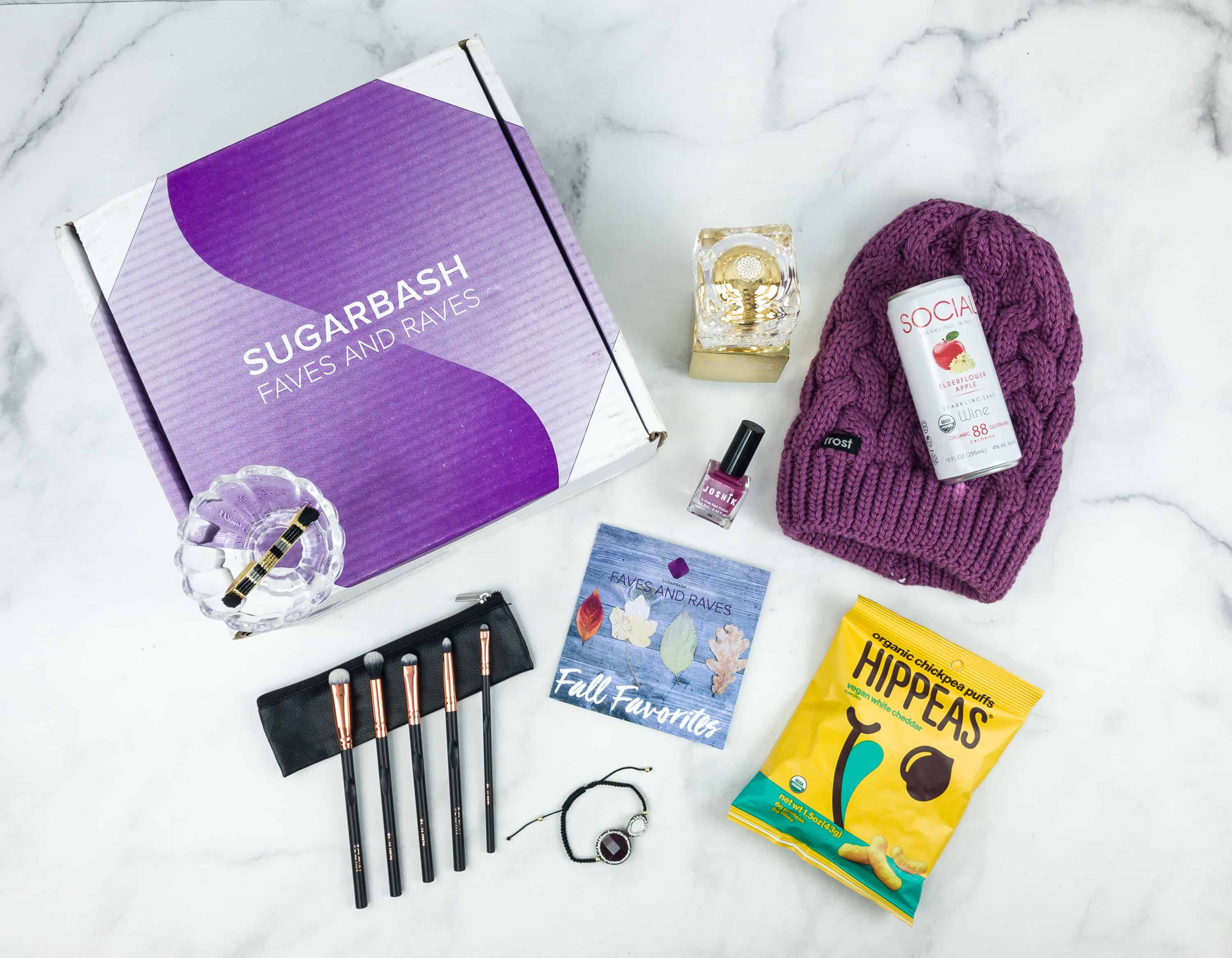 Sugarbash Fall 2018 Subscription Box Review