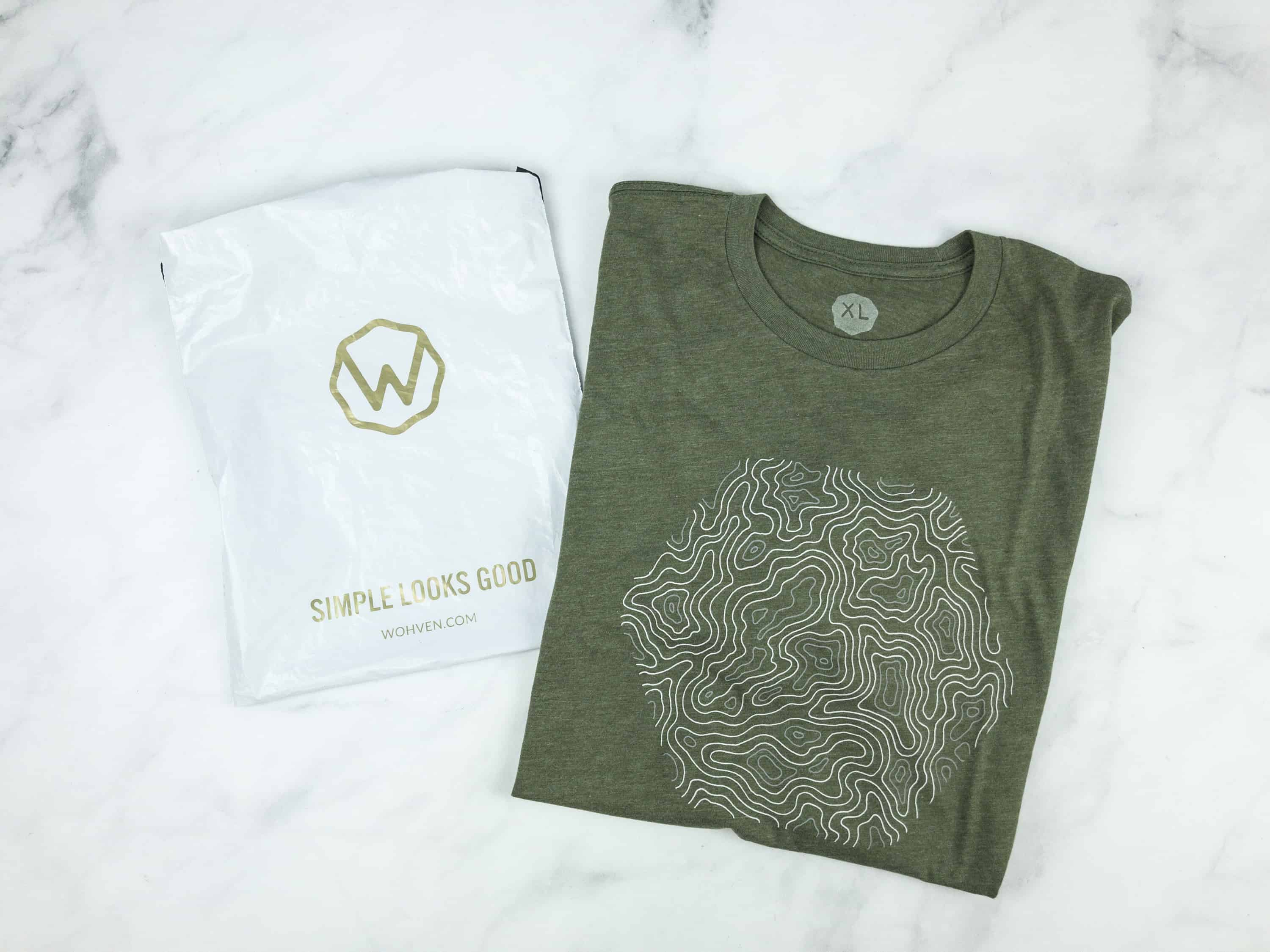 Wohven T-Shirt Subscription Review – October 2018