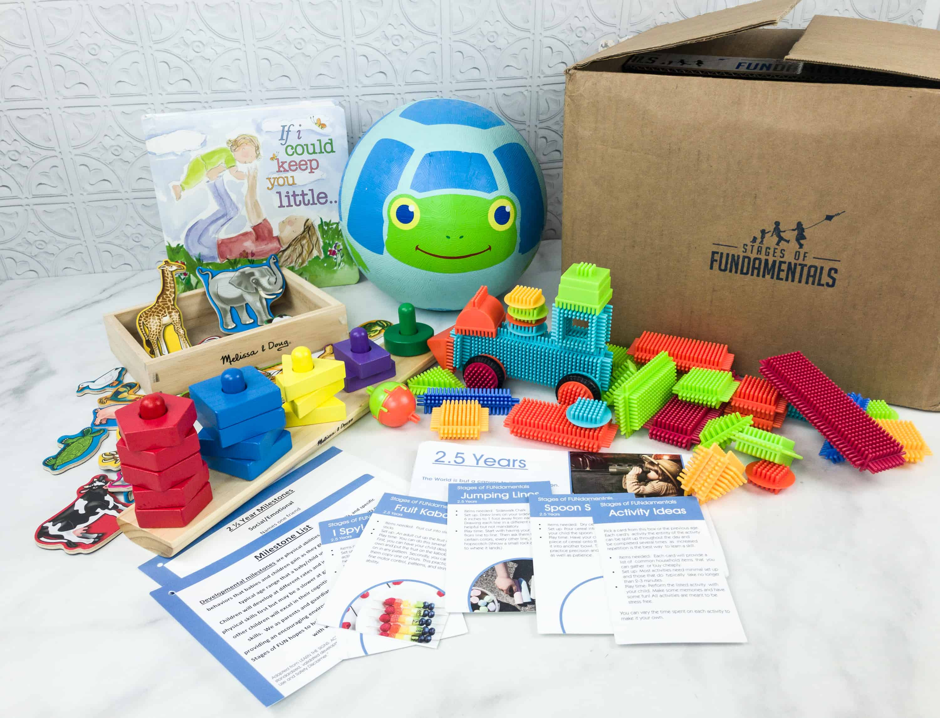 Stages of FUNdamentals October 2018 Subscription Box Review + Coupon