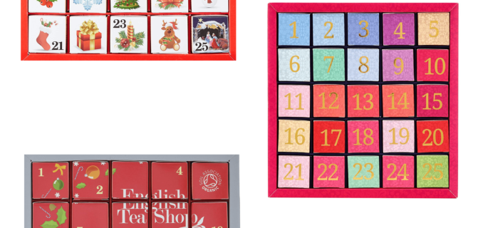 2018 English Tea Shop Advent Calendars Available Now + Full Spoilers!