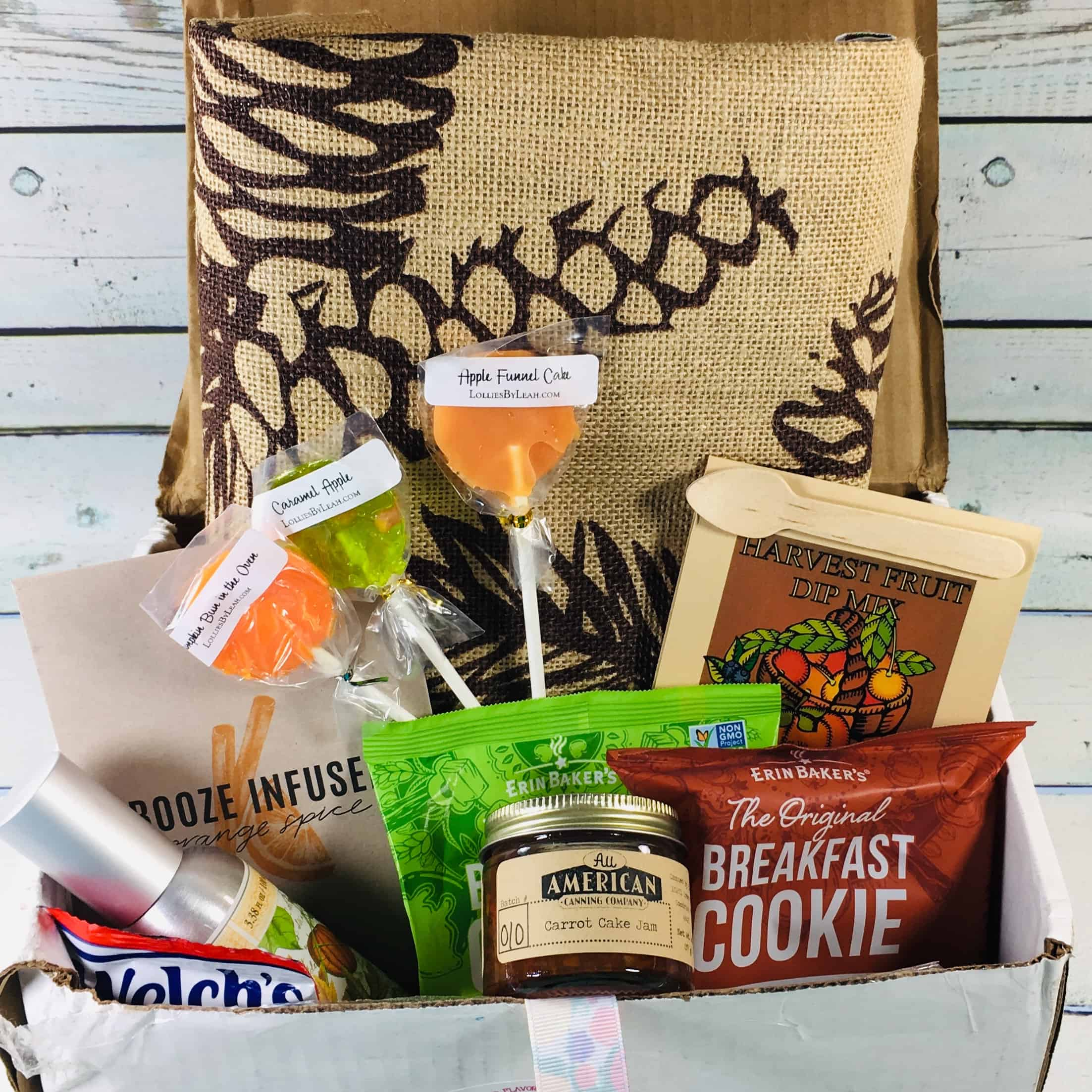 Fruit For Thought October 2018 Subscription Box Review & Coupon