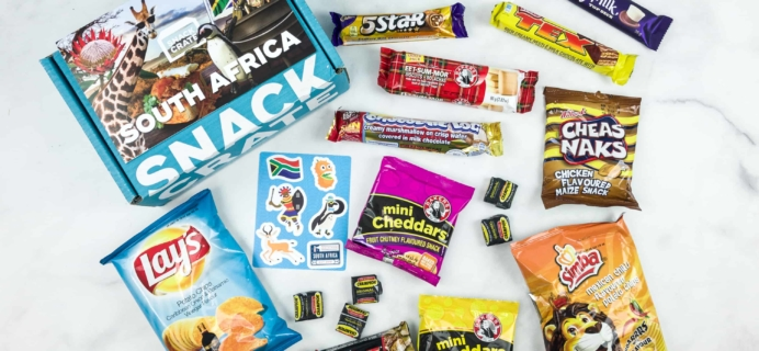Snack Crate October 2018 Subscription Box Review & $10 Coupon
