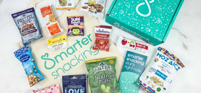 SnackSack Coupon: Save 30% on SnackSack Classic Subscription or Gift – Extended – LAST DAY!