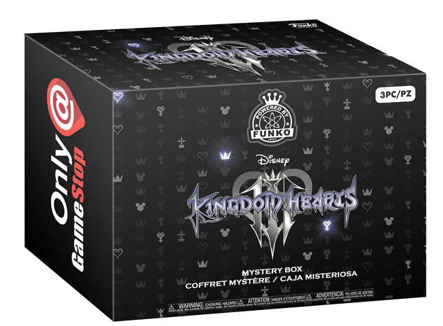 New GameStop Funko Kingdom Hearts III Mystery Box Coming Soon + Spoilers!