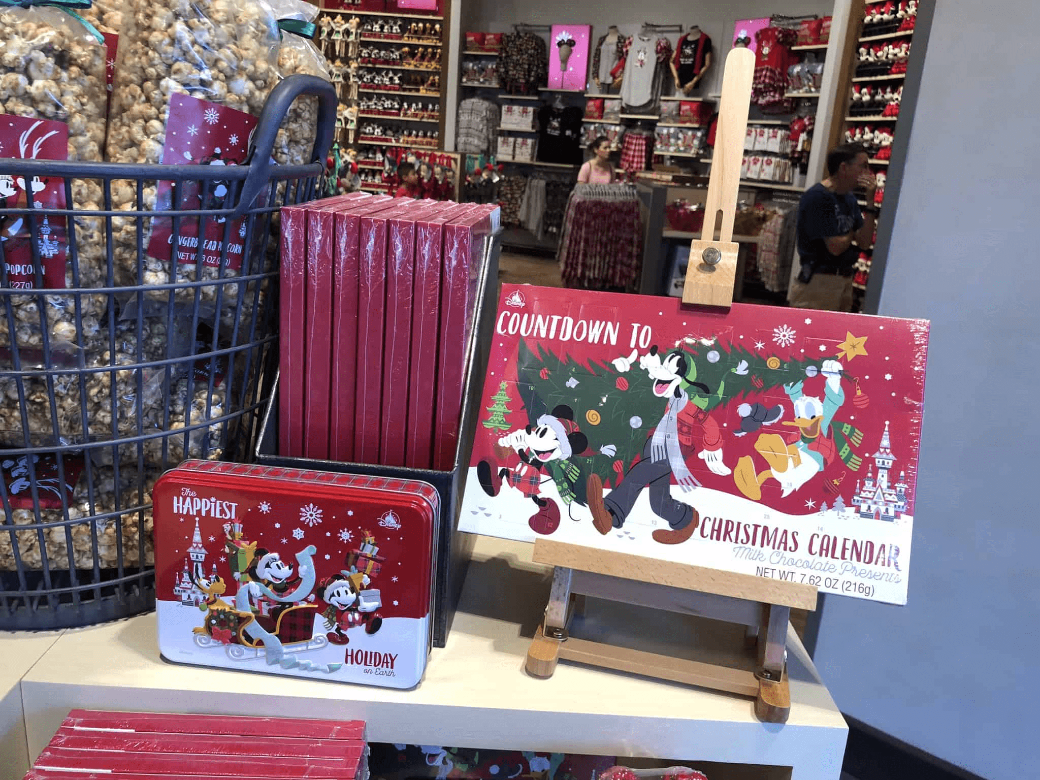 2018 Disney Parks Chocolate Advent Calendar Available Now!