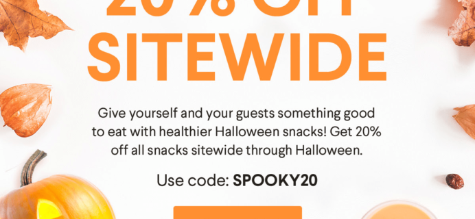 Naturebox Halloween Sale: Save 20% Off Sitewide!